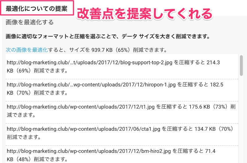 『PageSpeed Insights』でページ表示速度低下の原因を探す